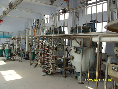 Cooking Oil Machinery at Russia