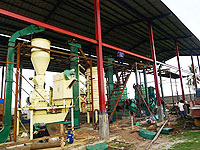 coconut oil extracting and refining plant in Philippines