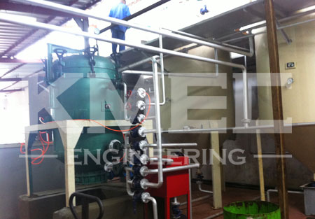 coconut oil refining plant new workshop view