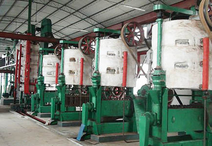 cottonseed oil extruder plant