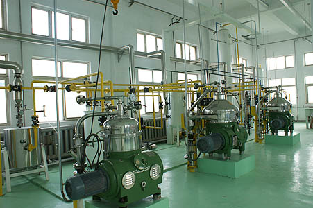cottonseed oil processing plant