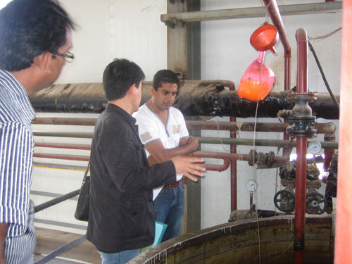 explain equipments of the soybean refining plant