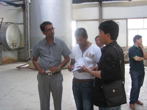 explain equipments working principles of the soybean refining plant