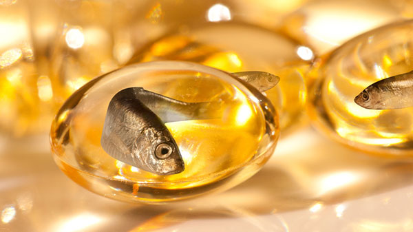fish oil and capsule
