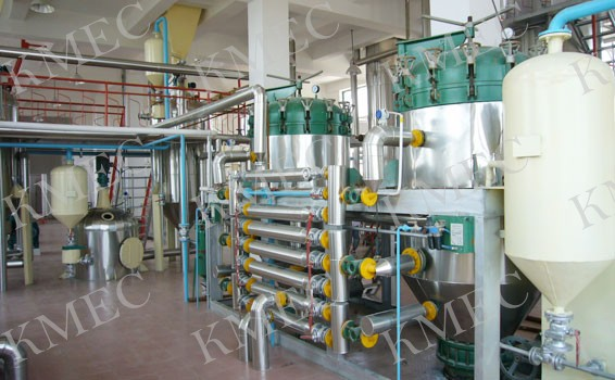 pressure leaf filter used in oil mills