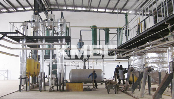 oil extraction factory