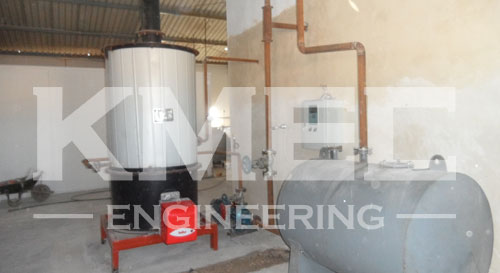 conductive oil furnance of the refining plant
