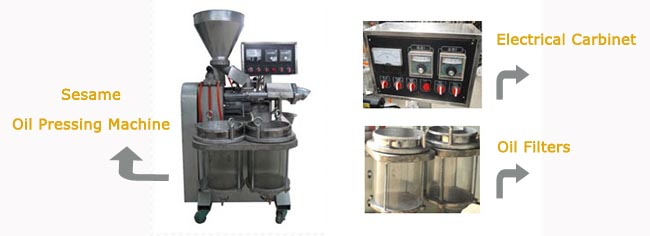 sesame oil pressing machine