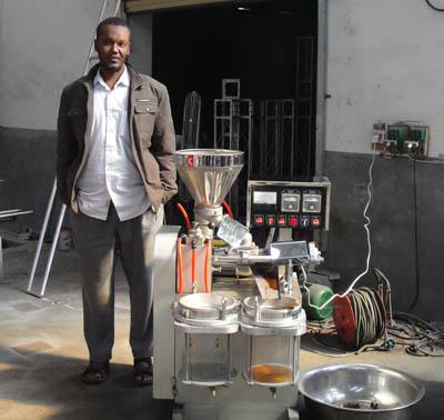 sesame   oil production machine