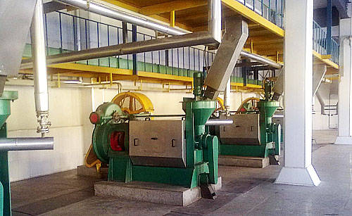 small canola edible oil processing unit