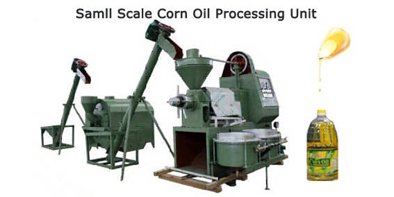 small scale corn oil processing unit