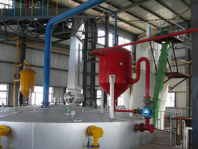 soya bean oil extraction turn key plant