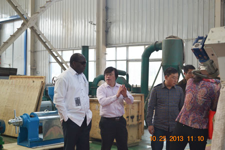 vist our own   factory in Anyang