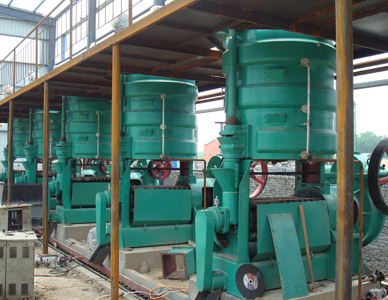 palm kernel oil production mill
