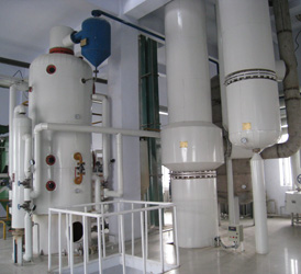 continuous oil refinery plant