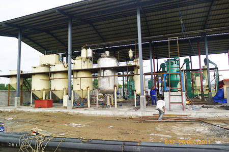 Coconut Oil Extraction Plant