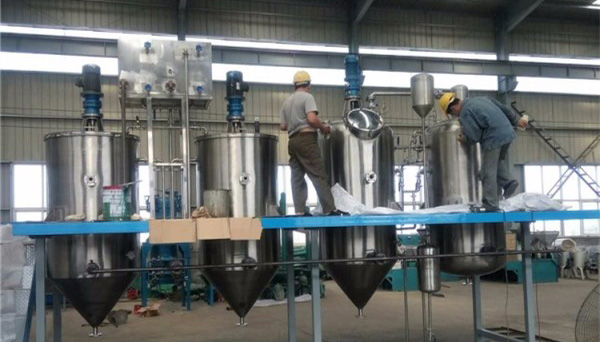 Choose professional Small Sunflower Seed Oil Refinery Line